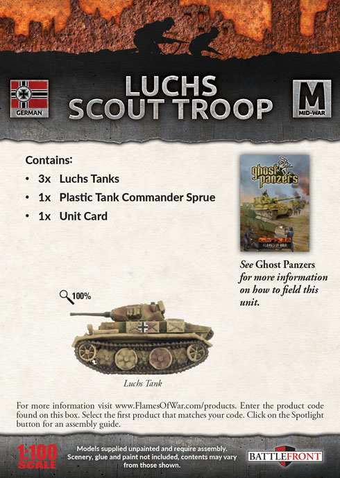 Luchs Scout Troop (GBX131)