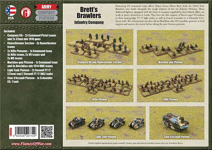Brett's Brawlers (GUSAB01) Great War American Army Deal