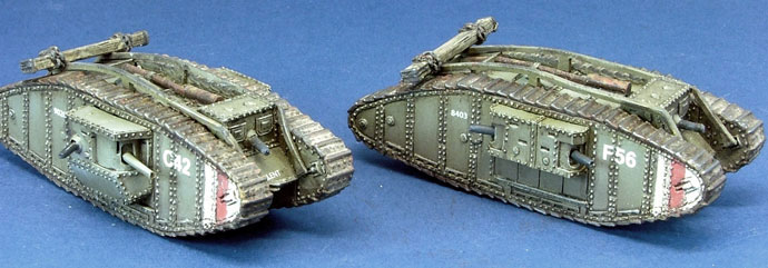 Heavy Tank Platoon - Female & Male Mark IV Tanks