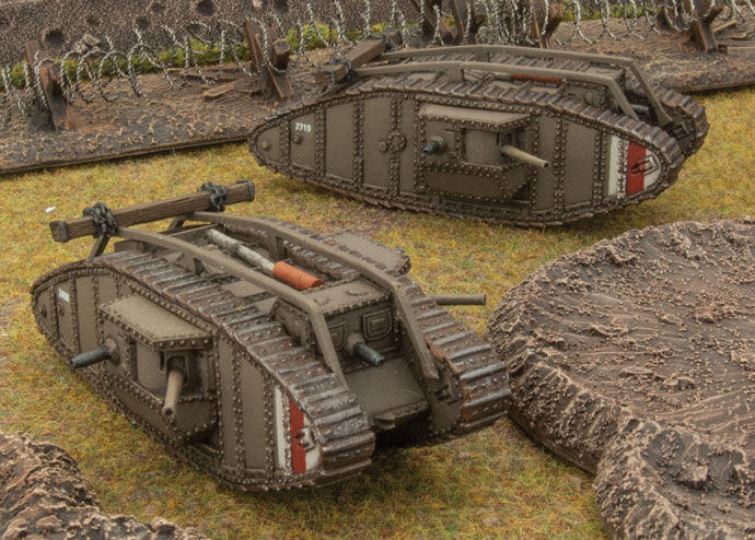 Iron Fortresses: British & German Tanks Of World War One