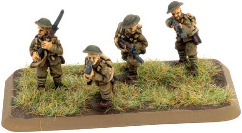 HQ & Rifle Platoon (GBR702)