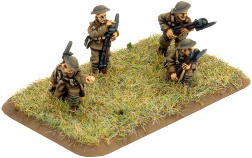 HQ & Rifle Platoon (GBR702)