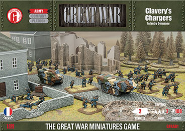 Great War French Army Deal: Clavery's Chargers