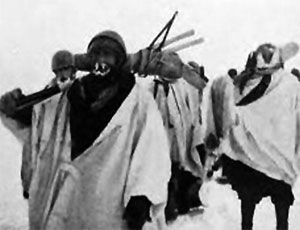 Alpini ski troops reteat during the winter of 1942/43