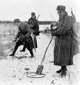 Clearing mines