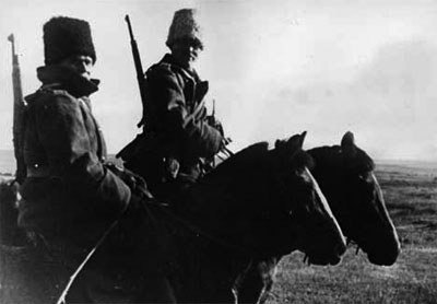 Romanian Cavalry on the Don Steppe