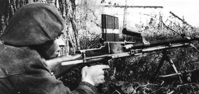 Romanian Mountain machine-gunner