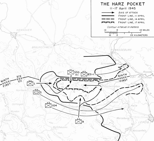 US attacks on Festungs Harz