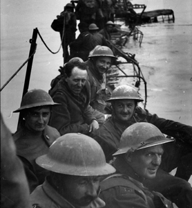 Evacuees from Dunkirk