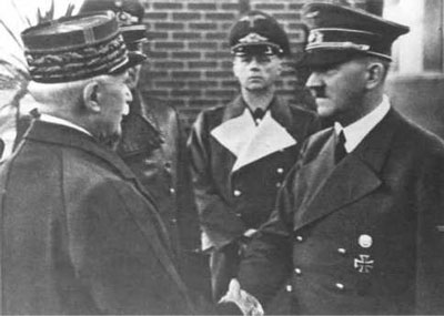 The German and French armistice