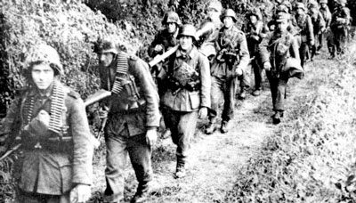 German Grenadiers in Normandy