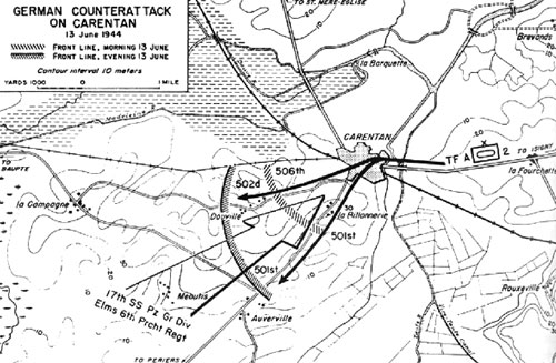 Counterattack at Carentan