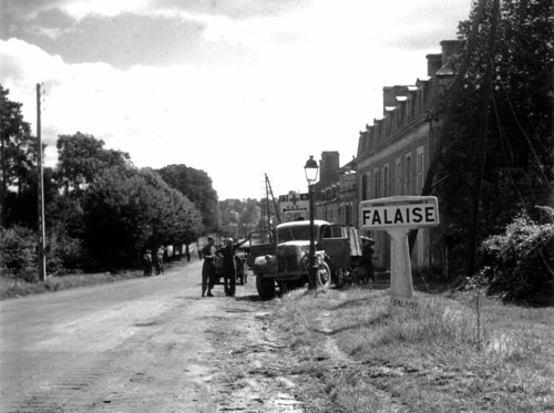 Canadians in Falaise