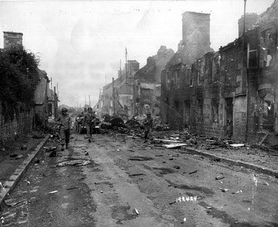Mortain after the battle