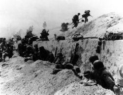4th Infantry Division on Utah beach