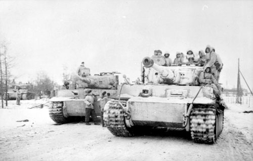 Tiger Ie tanks