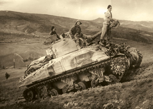 South African Sherman III tank