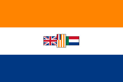 The South African WWII era national flag