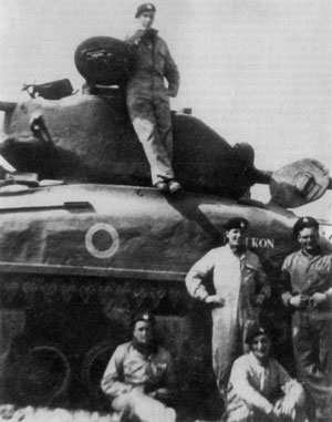 7th Armoured Brigade 76mm Sherman