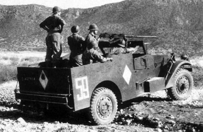 French M3A1 Scout Car