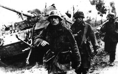 German troops on the move