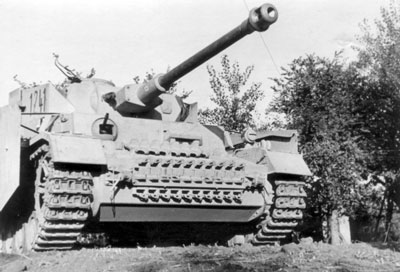 A German Panzer IV
