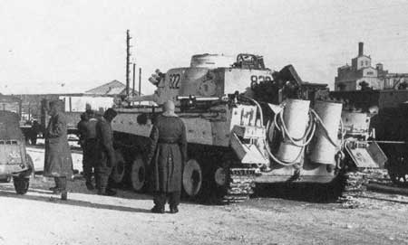 A 'Das Reich' Tiger in the suburbs of Kharkov
