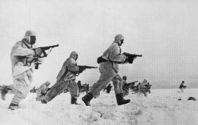 Soviets in Snow Suits
