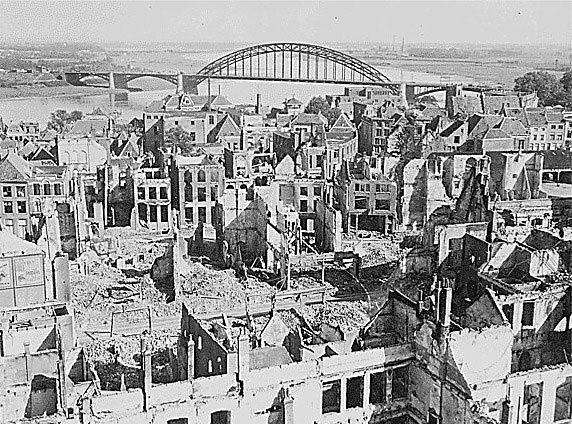 Nijmegen after the battle