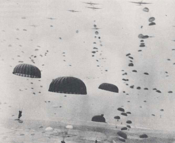 Paratroopers over Holland