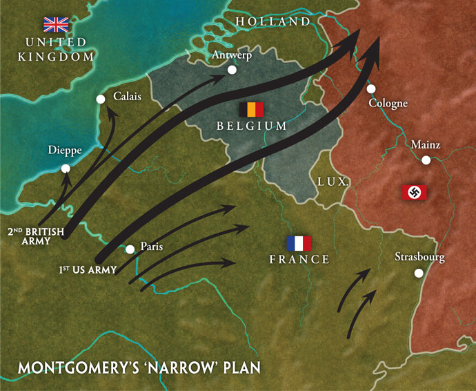 Montgomery's 'Narrow' plan