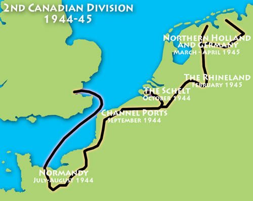 Campaigns of the 2nd Canadian Division 1944-45