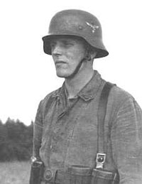Luftwaffe soldier