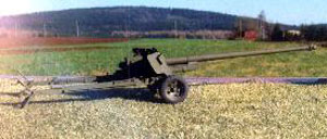 The 100mm had a very low profile for such a powerful gun
