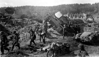 Germans advance during 1941