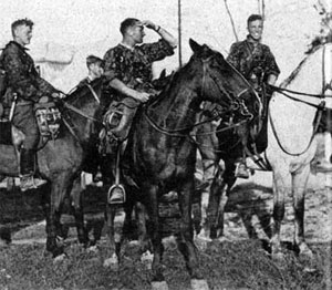 SS Cavalry on their mounts