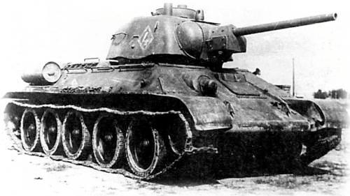 OT-34 Flame tank