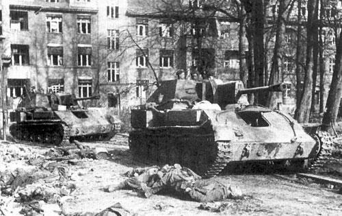 SU-76M assault guns