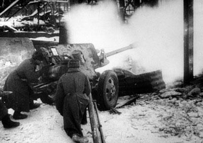 Zis-3 76mm gun