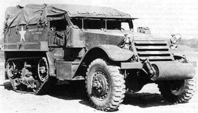 Right an example of a m3 half track