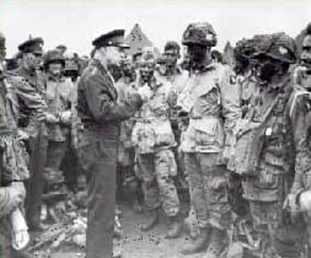 Eisenhower and US Paratroopers