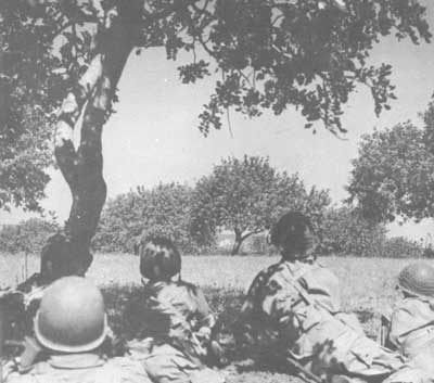 US Paratroopers in Sicily