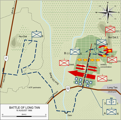 The Battle of Long Tan: Operation Smithfield, 18 August 1966