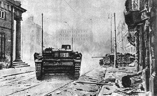StuG Assault Guns in Warsaw 1944