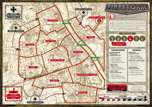 FS Warsaw Map