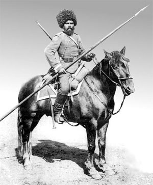 Cossack at the turn of the 19th/20th century