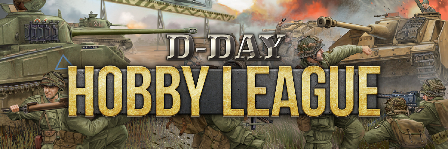 Click here to go to the D-Day Hobby League Landing Page