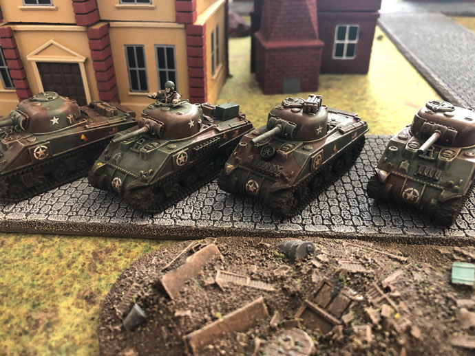 Fielding an Armored Company for D-Day American
