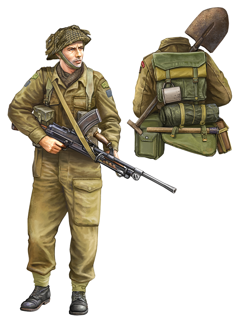 British Late War Rifleman