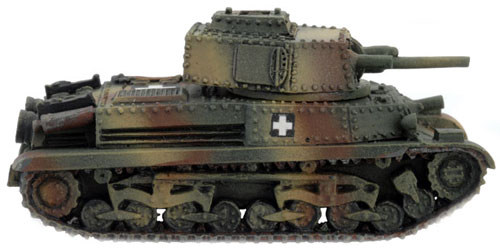 Turán I / II tank (HU030) - Turán I